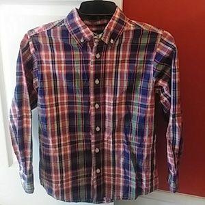 Boys J. Khaki Dress Shirt